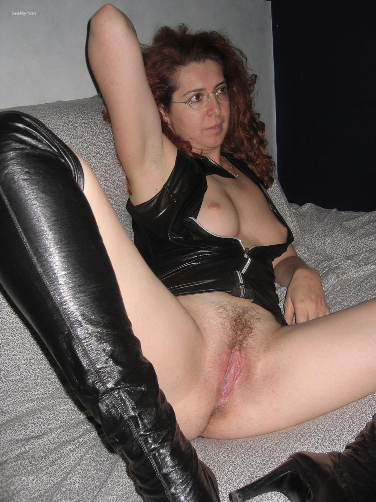 wearing fuck leather