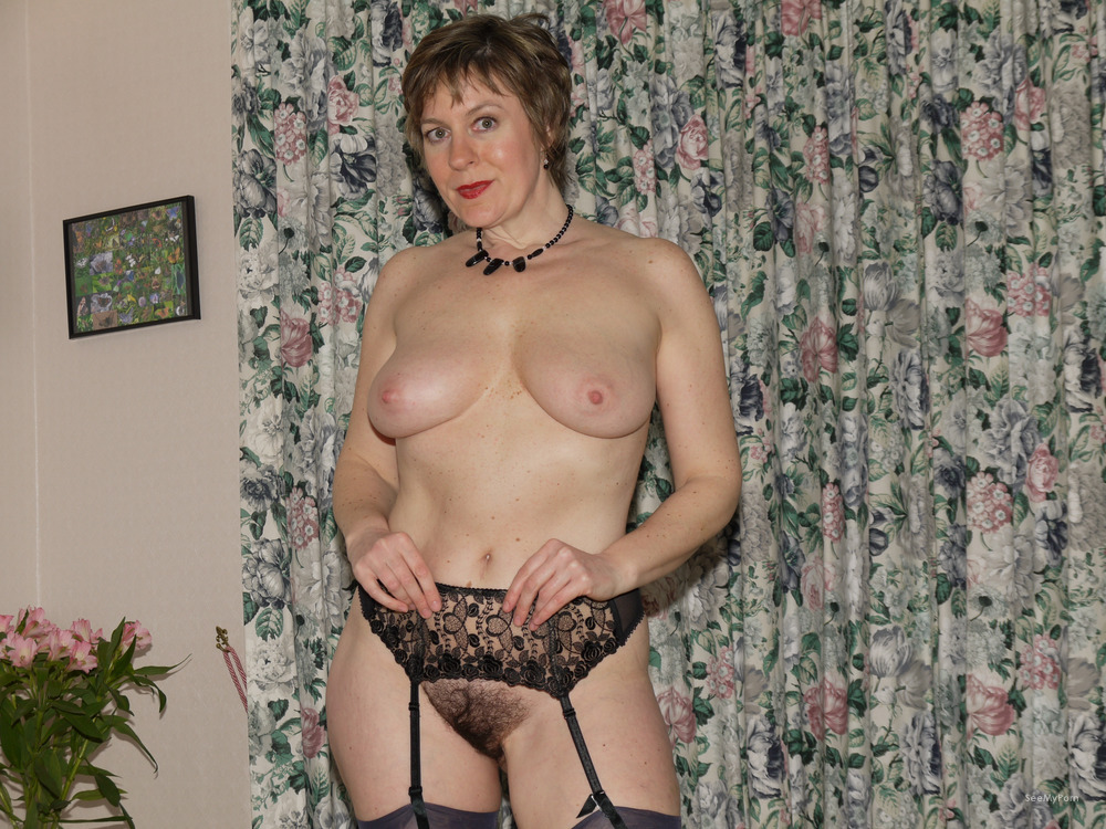 nude Hairy mature wives